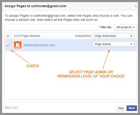 Namesarecheap Social Media Tips | Separate your Facebook company page