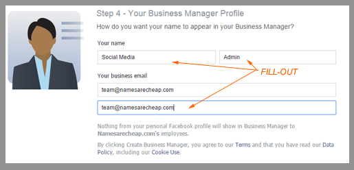 Namesarecheap.com Social Media Tips | Separate your Facebook company page