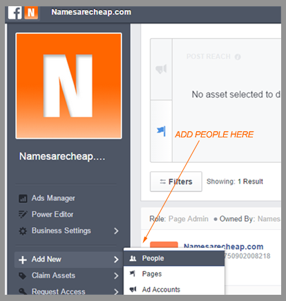 Namesarecheap.com Social Media Tips | How to separate your Facebook company page from your personal profile